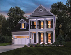 Colonial Style House Plans Plan: 74-708