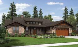 Bungalow Style Floor Plans Plan: 74-710