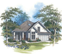 Traditional Style House Plans Plan: 74-723