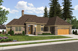 Ranch Style Floor Plans Plan: 74-732