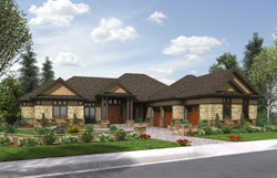 Country Style House Plans Plan: 74-753