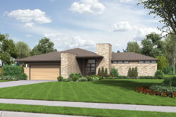 Contemporary Style House Plans Plan: 74-756