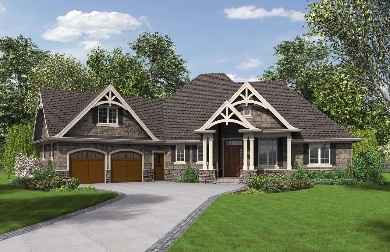 Craftsman Style House Plans Plan: 74-768