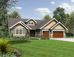 Craftsman Style House Plans Plan: 74-771