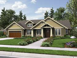 Craftsman Style House Plans 74-784