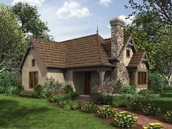 Cottage Style Floor Plans Plan: 74-785