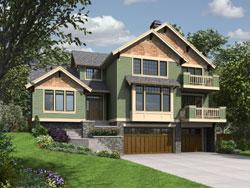 Craftsman Style Floor Plans Plan: 74-798
