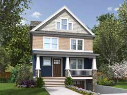 Craftsman Style House Plans Plan: 74-807