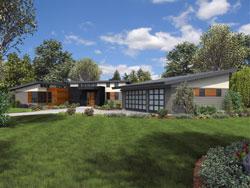 Modern Style Floor Plans Plan: 74-838