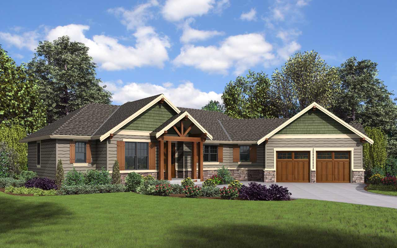 Craftsman Style House Plans Plan: 74-844