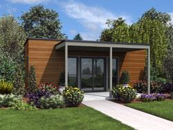 Modern Style Floor Plans Plan: 74-850