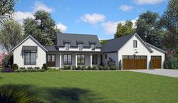 Modern-Farmhouse Style Floor Plans Plan: 74-852