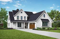 Modern-Farmhouse Style House Plans Plan: 74-861