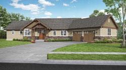 Craftsman Style House Plans Plan: 74-868