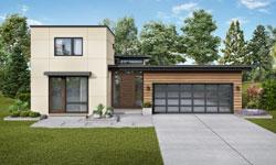 Modern Style Floor Plans Plan: 74-872