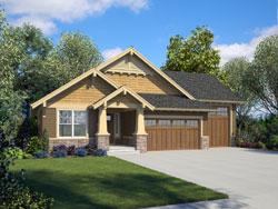 Craftsman Style House Plans Plan: 74-891
