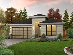 Modern Style House Plans Plan: 74-918