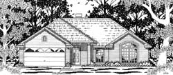 Traditional Style Floor Plans Plan: 75-116
