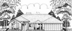 Traditional Style Floor Plans Plan: 75-124