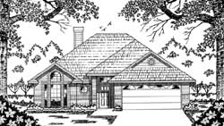 Traditional Style House Plans Plan: 75-131