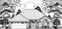 Traditional Style House Plans Plan: 75-134