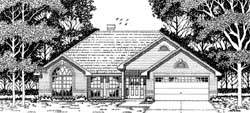 Traditional Style House Plans Plan: 75-138