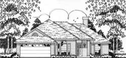 Traditional Style Floor Plans Plan: 75-140