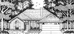 Traditional Style Floor Plans Plan: 75-141