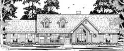 Country Style House Plans Plan: 75-181