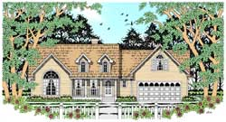 Country Style Floor Plans 75-281