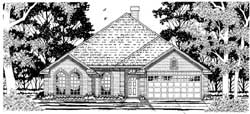 Traditional Style Floor Plans Plan: 75-339