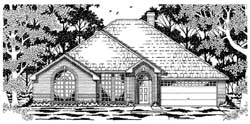 Traditional Style House Plans Plan: 75-354