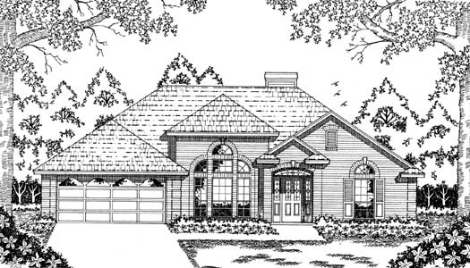 Traditional Style House Plans Plan: 75-366