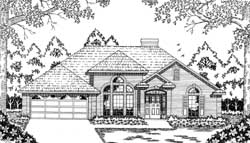 Traditional Style Floor Plans Plan: 75-366