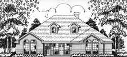 Traditional Style House Plans Plan: 75-380