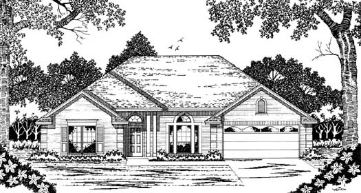 Traditional Style House Plans Plan: 75-389