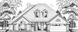 Traditional Style Floor Plans Plan: 75-400