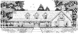 Farm Style House Plans 75-428