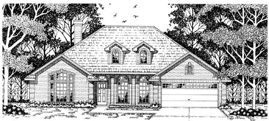 Traditional Style Floor Plans Plan: 75-430