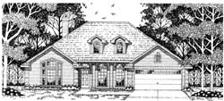 Traditional Style House Plans Plan: 75-430