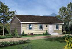 Traditional Style House Plans Plan: 77-110