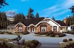 Traditional Style House Plans Plan: 77-181