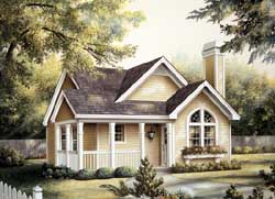 Cottage Style Floor Plans Plan: 77-230