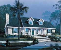 Country Style Floor Plans 77-246