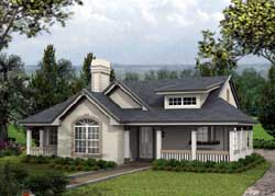 Country Style Floor Plans 77-258