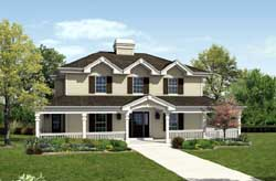 Country Style House Plans Plan: 77-266