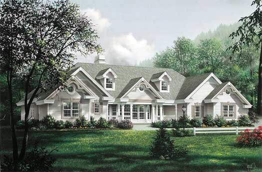 Southern Style House Plans Plan: 77-275