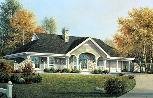 Country Style House Plans Plan: 77-286