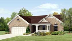 Country Style House Plans Plan: 77-288