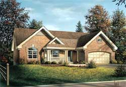 Traditional Style Floor Plans 77-289